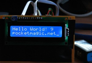 First steps with micro controllers (ATMega8)