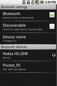 More on Android's Bluetooth