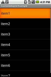Android Dynamic (no xml) Custom Adapter Listview