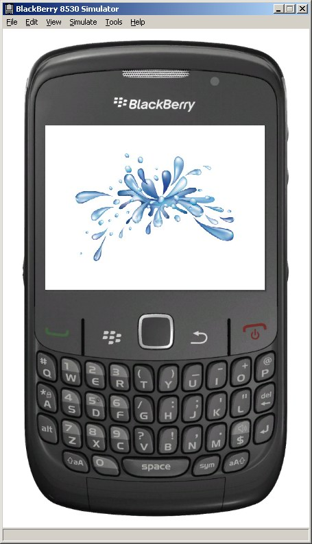 BlackBerry Splash Screen