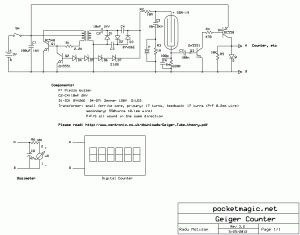 Marvelous Diy Homemade Geiger Muller Digital Counter V3 Pocketmagic Wiring Cloud Oideiuggs Outletorg
