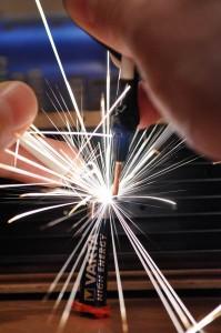 Capacitor Discharge Microspot Welder / Cutter