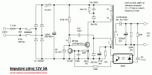 Smps Circuit Diagram Using Mosfet - nerv