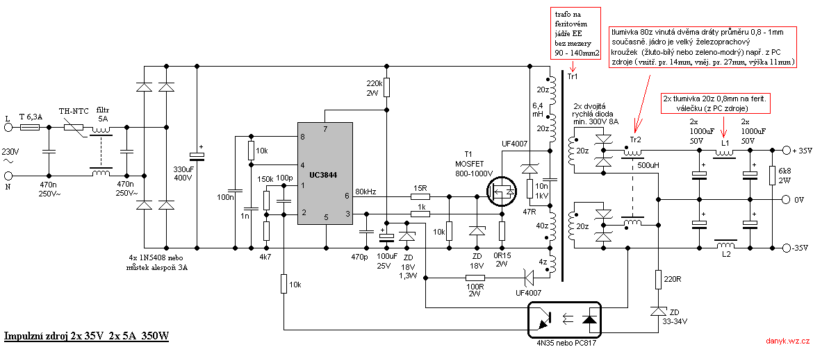 Simple Switched Power Supplies  U2013 Pocketmagic