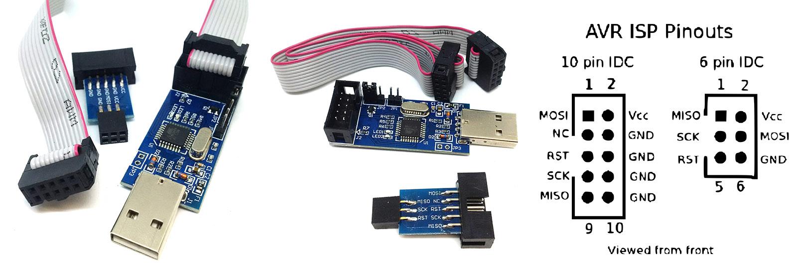 Usbasp Avr Usb Programmer Pocketmagic For Atmel Controllers