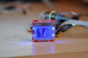 Atmega8 and Nokia 5110 LCD