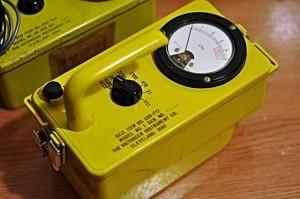 Victoreen CDV-717 Remote Gamma Survey dosimeter