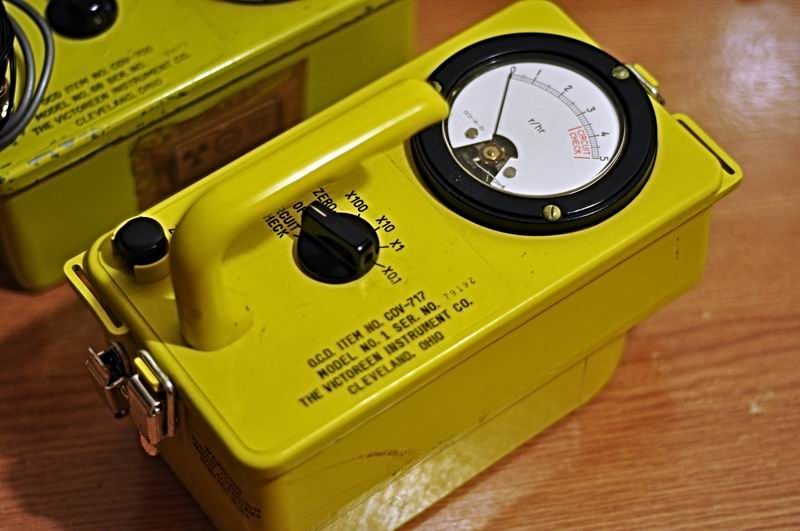 Victoreen CDV-717 Remote Gamma Survey dosimeter