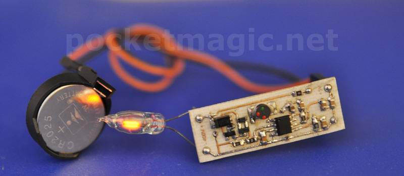 Small size High-Voltage regulated inverter
