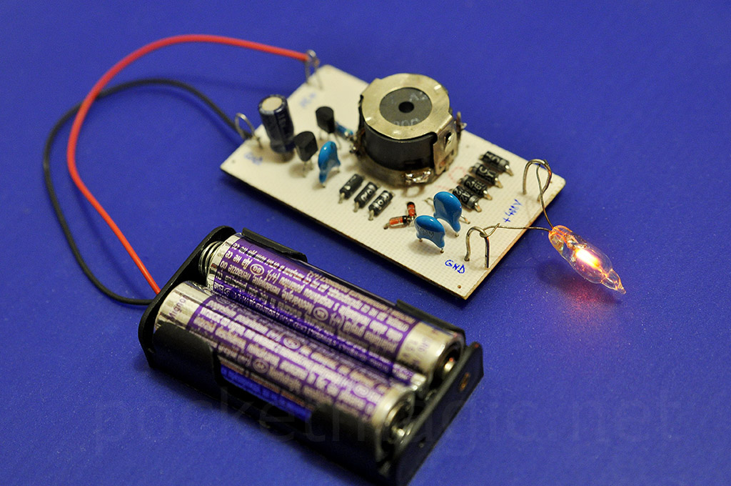3V to 400V regulated inverter for Geiger counters ...