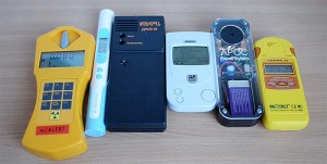 Comparison of dosimeters