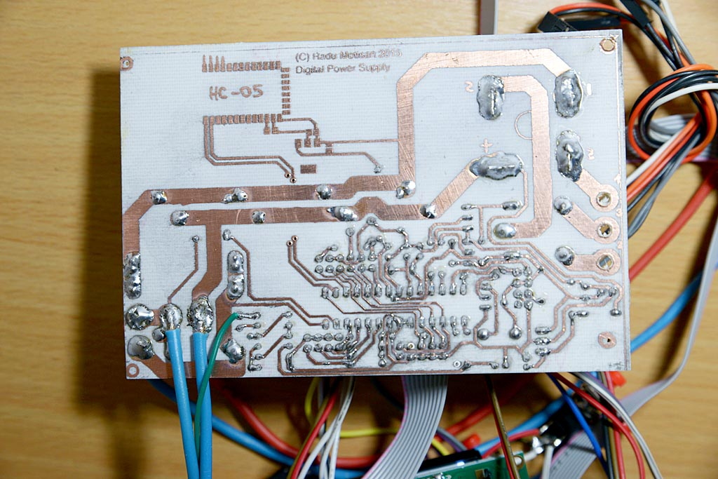 Digital bench power supply – PocketMagic