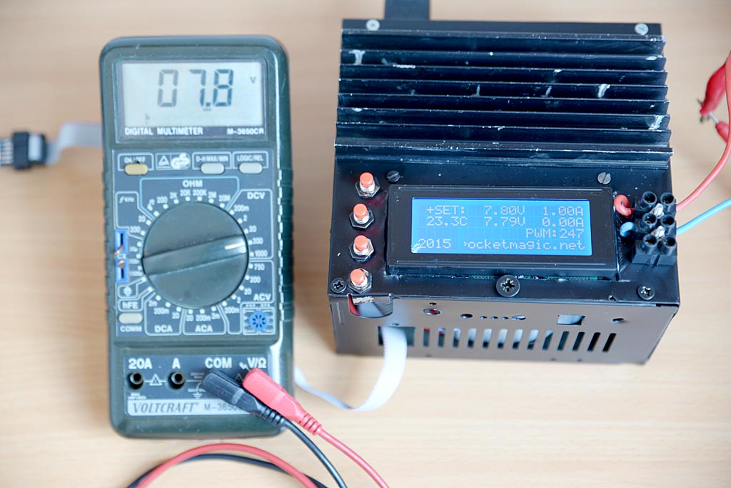 digital bench power supply pocketmagic