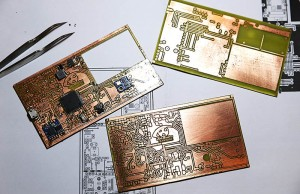 A true hacker makes his own PCBs