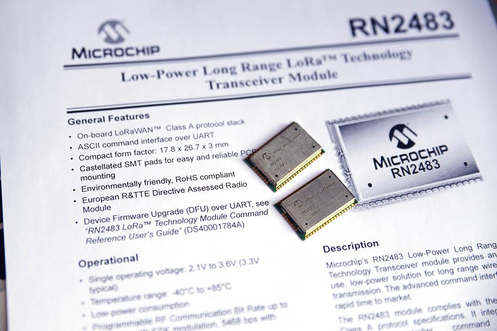 LoRaWAN, RN2483 and BME680 – PocketMagic