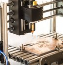 CNC Router for DIY PCB manufacturing